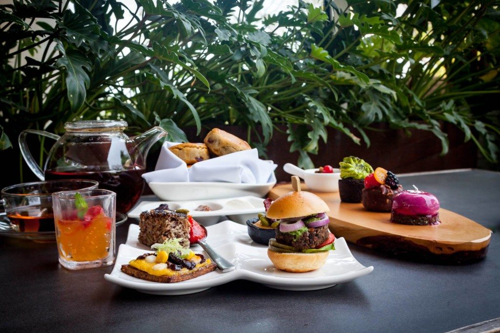 Weekday high tea: Capella Singapore