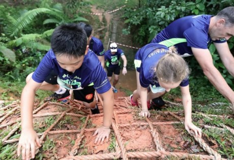 Columbia Jungle Run - Walk Edition honeycombers singapore
