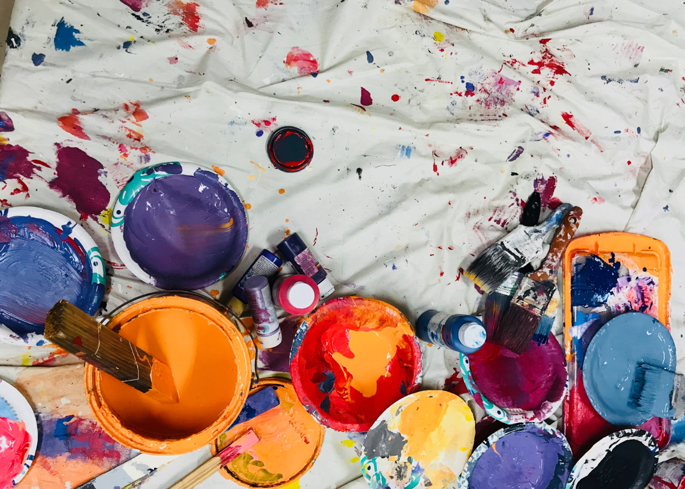 Unleash your inner Picasso and create your own masterpiece at art jamming studios and cafés