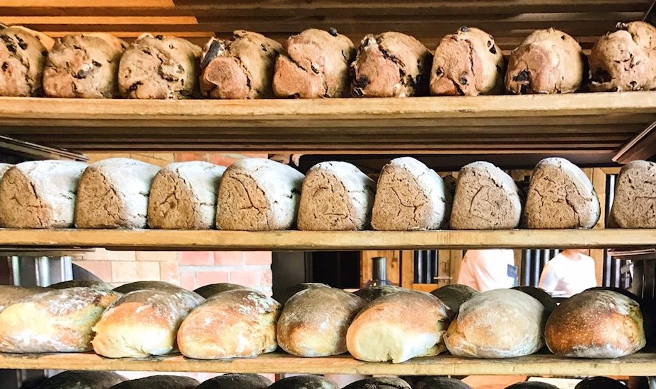 Firebake's sourdoughs are made with organic flour.