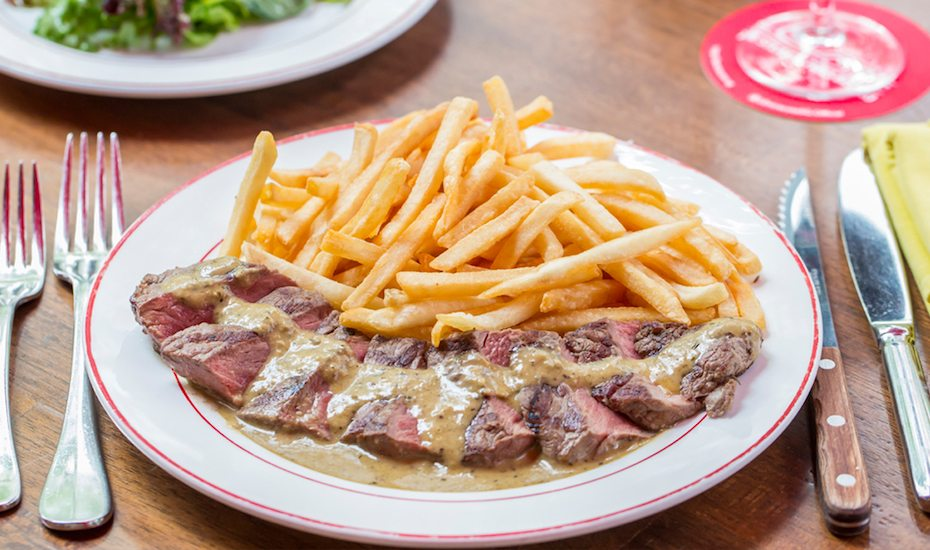 deliveroo Glasshouse steak frites honeycombers singapore