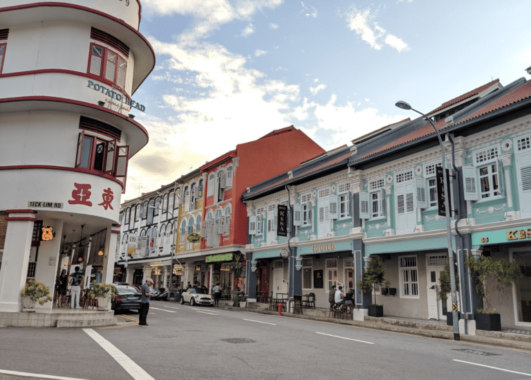 Keong Saik is breathing new life with award-winning bars, exciting restaurants and local eats