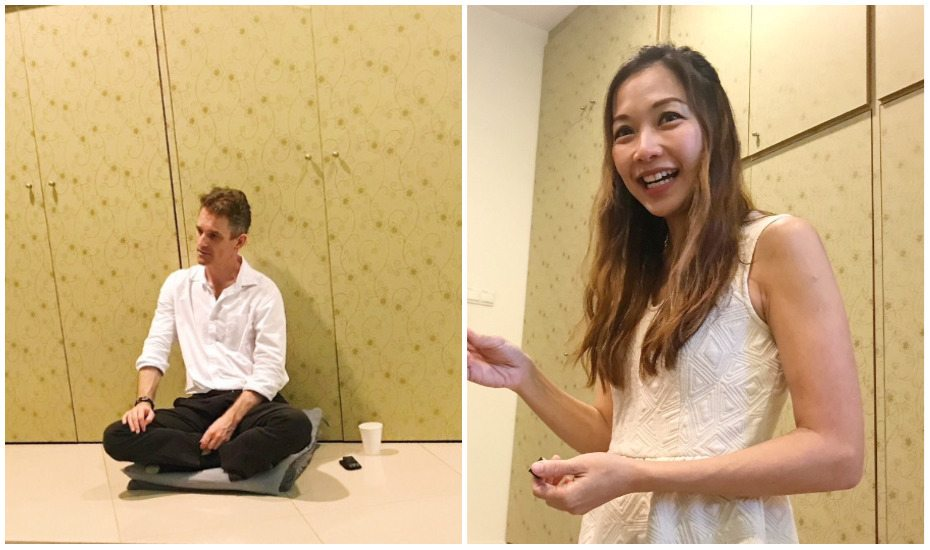 Naturopath Tiffany Wee (right) created the Mini Me Retreats, and brings fantastic practitioners on board such as Toby Ouvry (left), a mindfulness expert.