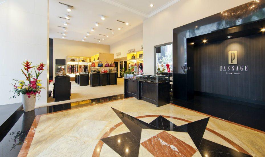 Fashion boutique at Passage New York