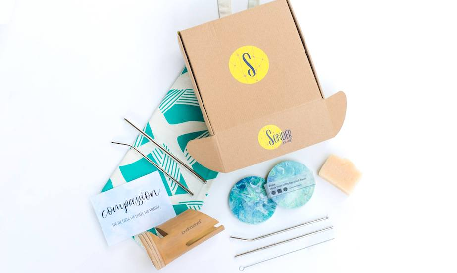 Sonder Social's latest subscription box, filled with Fair Trade items and pieces created by social enterprises around Asia.