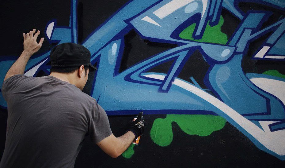 ArtScience Museum | ArtScience Late | Late night things to do | Live graffiti battle