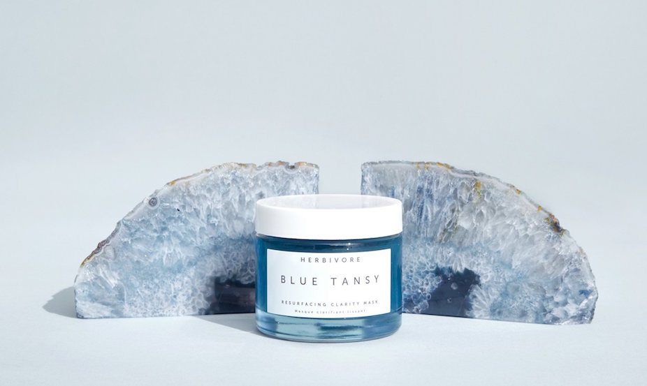 best beauty buys March 2018: Herbivore Botanicals Blue Tansy Mask