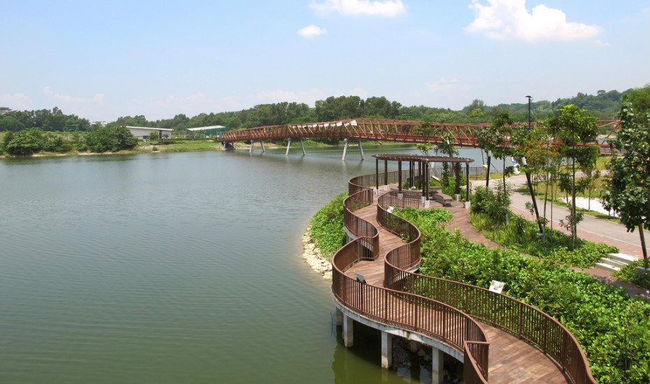 Punggol Waterway Park, just a distance from Coney Island