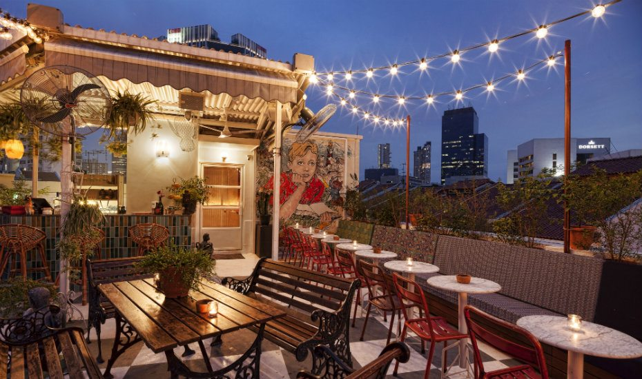 Potato Head Singapore is throwing rooftop parties with free-flow every Sunday