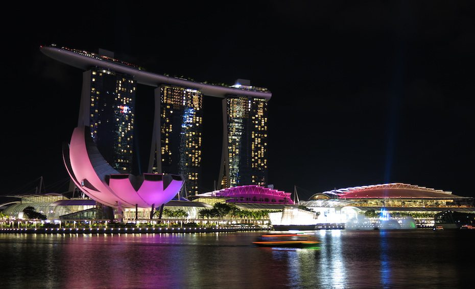 Instagrammable hotels in Southeast Asia: Marina Bay Sands