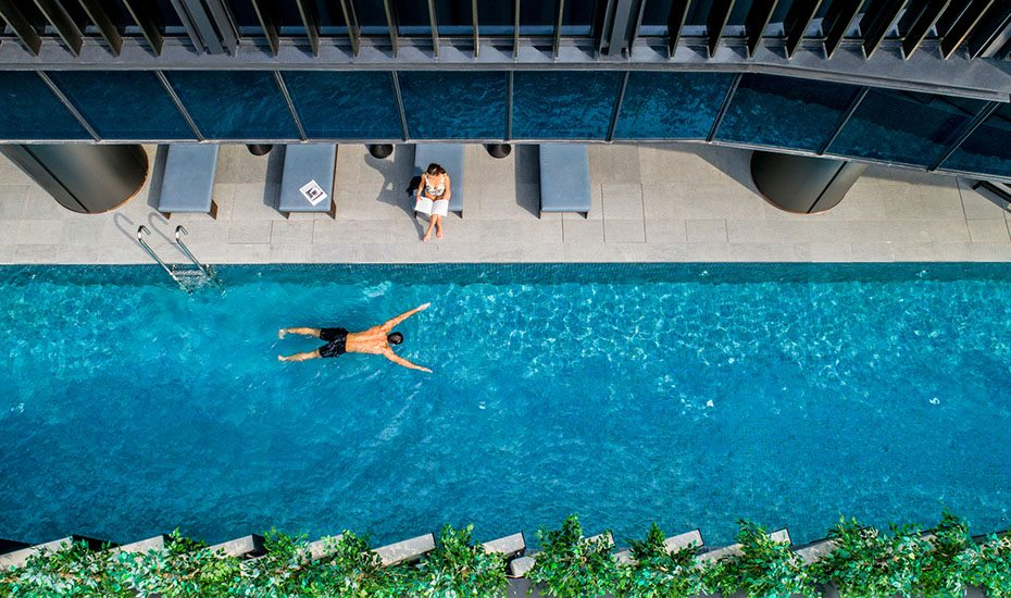InterContinental Singapore Robertson Quay | Swimming pool