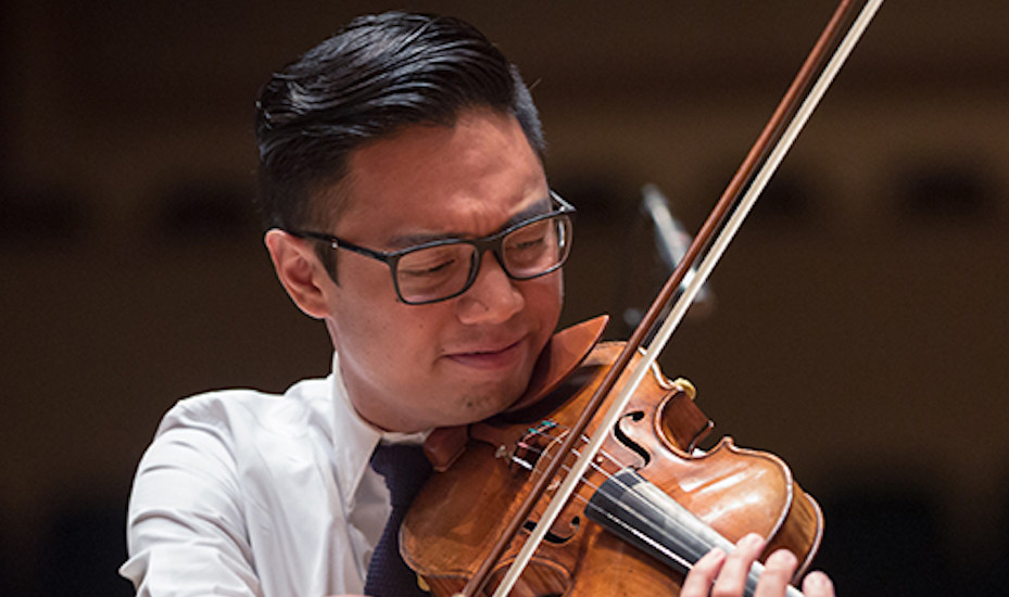 Canadian violinist Adrian Anantawan has performed at the White House and will be in Singapore for the True Colours concert.