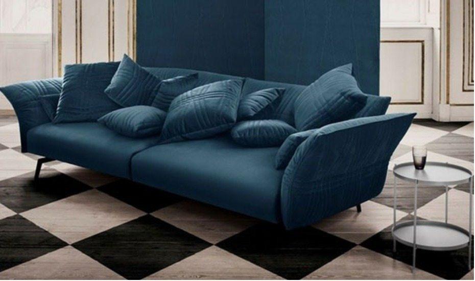 Velvet Plia Sofa From Kuhl Home
