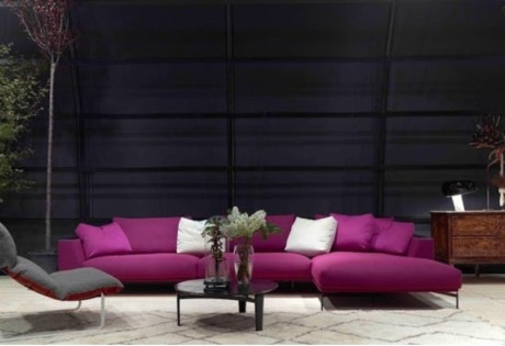Velvet sofas: Space furniture's Hollywood sofa