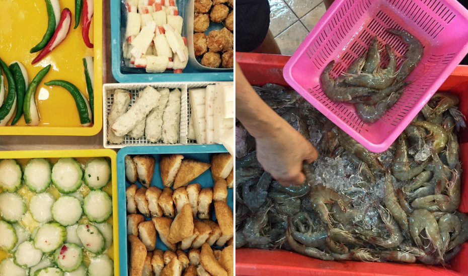 Wet markets in Singapore
