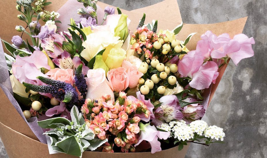 The Bloom Room florist in Joo Chiat is known for its whimsical and quirky floral arrangements