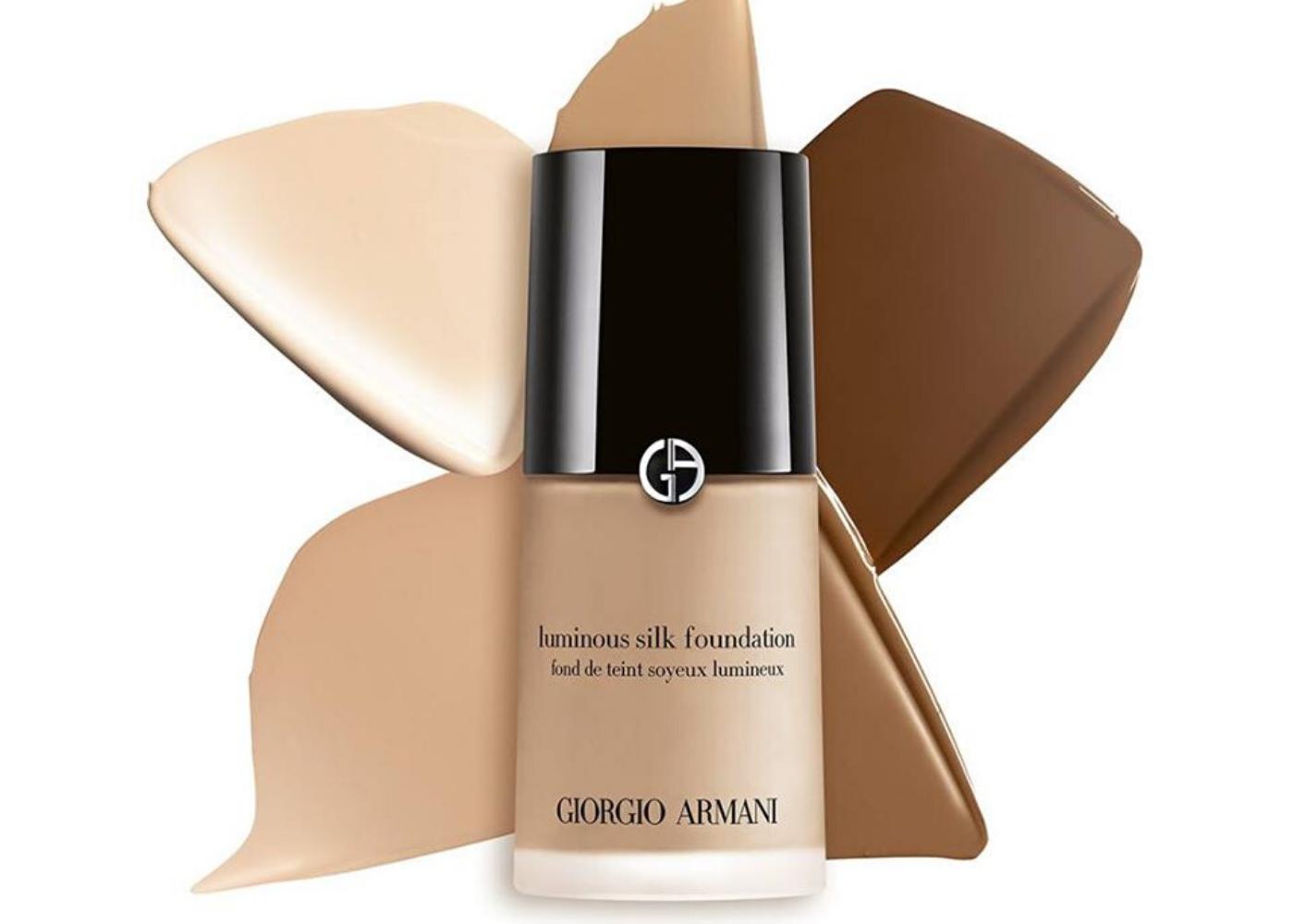 Giorgio Armani Beauty Luminous Silk Fluid Foundation | best foundation