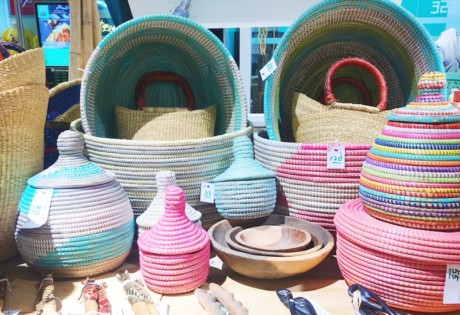 Check out Greenie Genie's handwoven baskets at The Green Collective's popup store