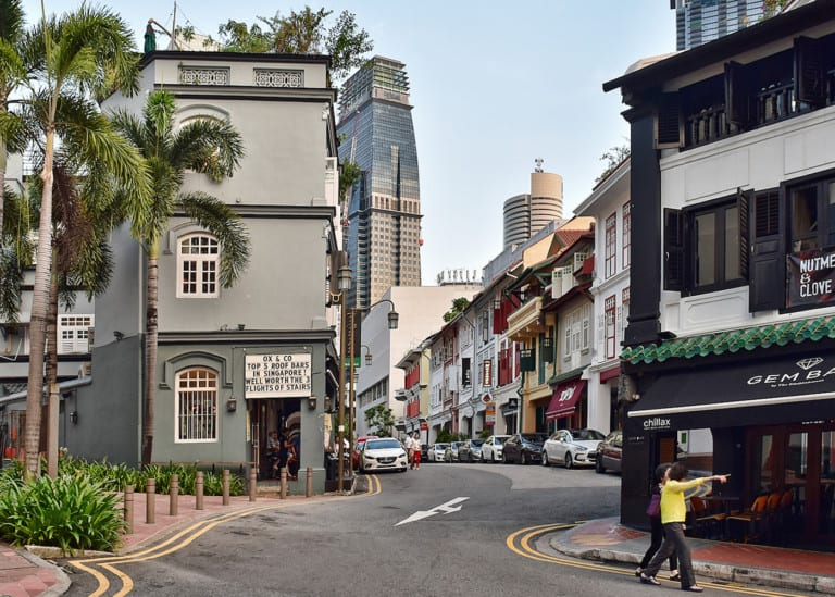 Ann Siang Hill and Club Street: probably the coolest hill and after-work hangout spot in town