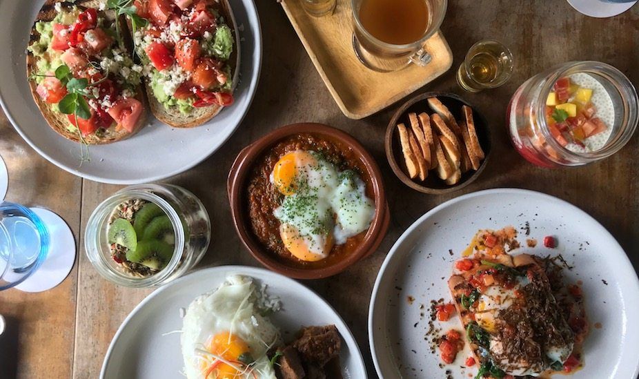 Halia at the Singapore Botanic Gardens serves a beautiful brunch menu on weekdays, with a local spin on breakfast favourites.