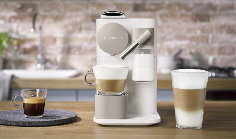Cafe-style brunch and coffee at home with Nespresso's Lattissima One