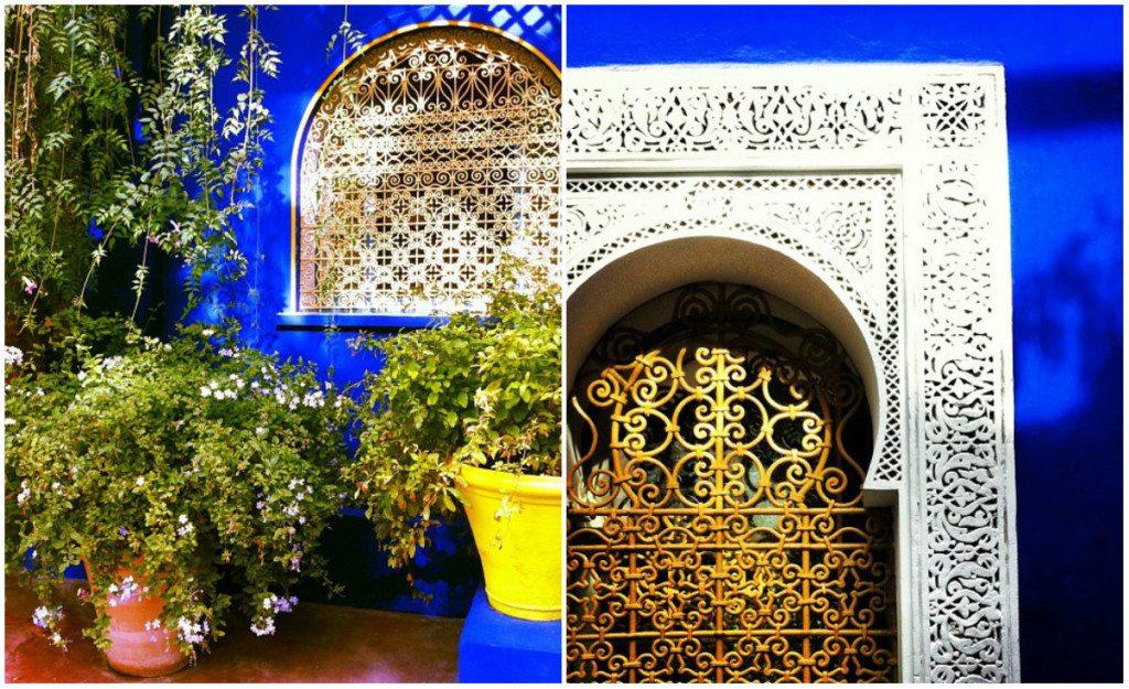 Morocco travel guide: Majorelle Garden.