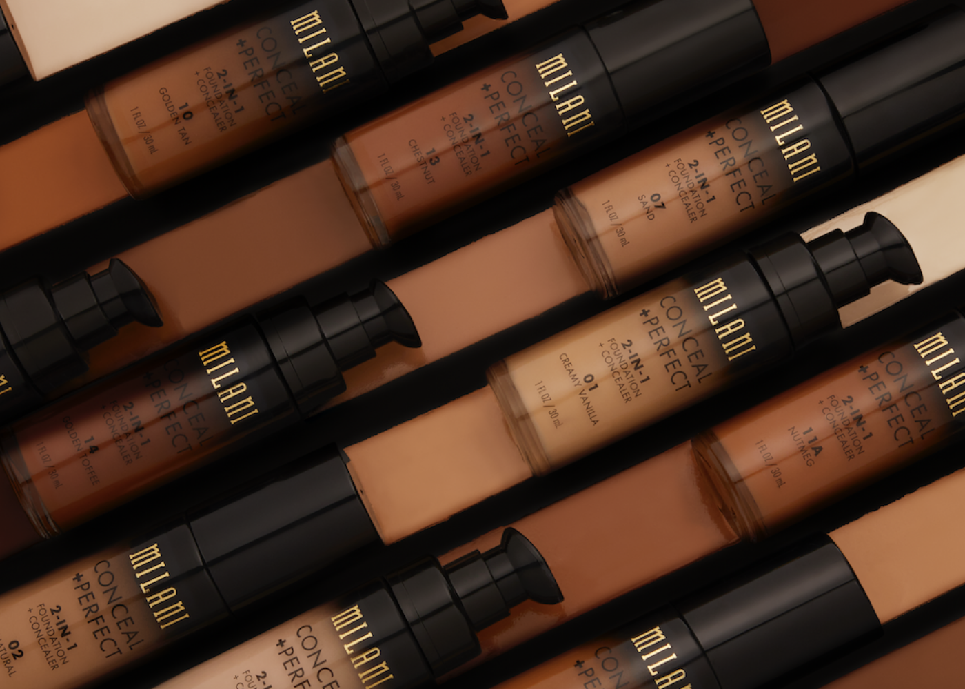 Milani Cosmetics Conceal & Perfect 2-In-1 Foundation | best foundation