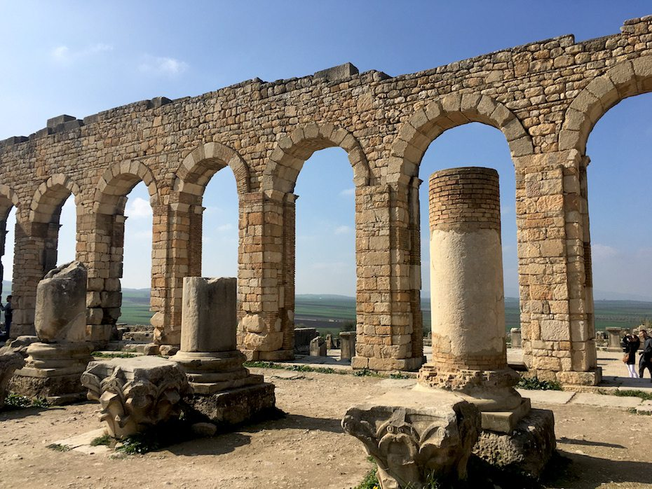 Morocco travel guide: Volubilis