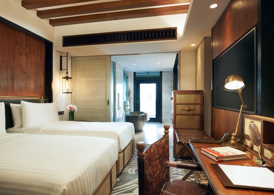 The Barracks Hotel is one of Sentosa's newest stays