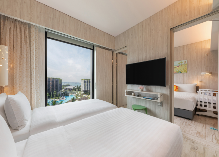 The Village Hotel is the latest family-friendly hotel in Sentosa