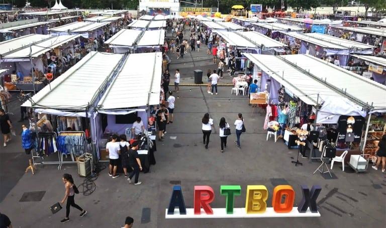 Artbox Singapore 2018: Bangkok's flea market makes a comeback