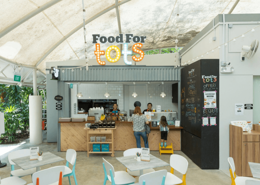 food for tots | singapore botanic gardens