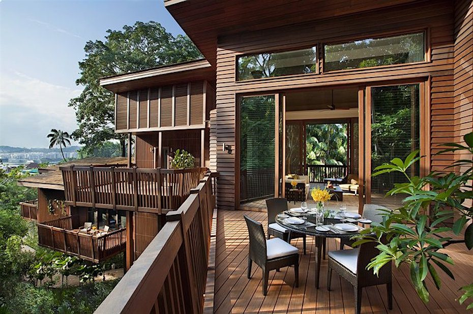 Hotels in Sentosa, Singapore: The Treetop Lofts