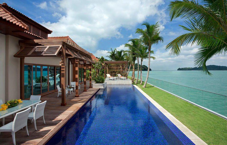 Hotels in Sentosa, Singapore: Beach Villas