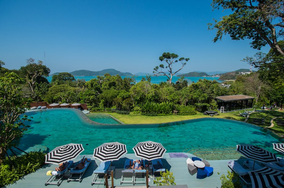 Island vacays: The pool at Sri Panwa's Habita Suite.