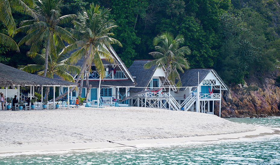 Islands near Singapore: Rawa Island Resort