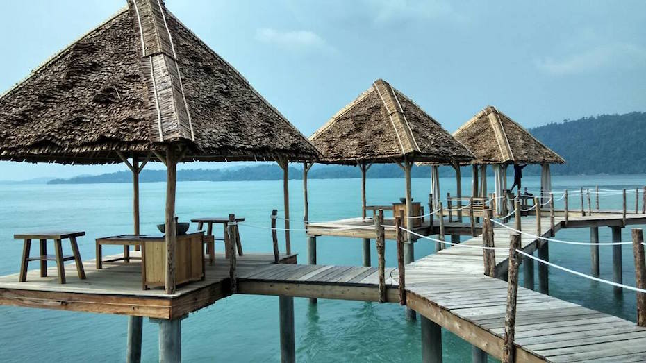 Islands near Singapore: Telunas