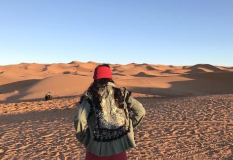 Morocco travel guide: Sahara Desert.