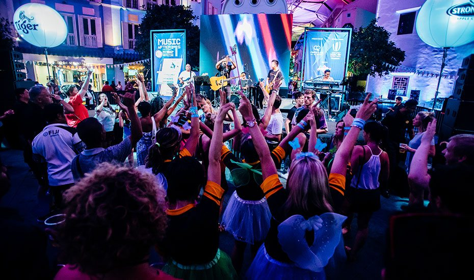 Music After 7s | The 2018 HSBC Singapore Rugby Sevens after-party at Clarke Quay