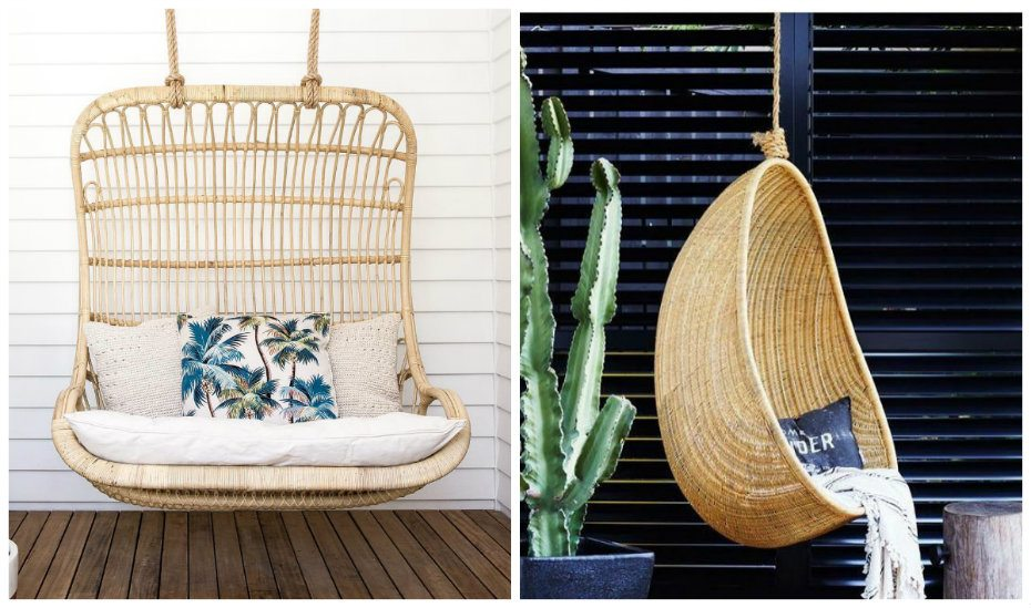 Rattan revival: rattan chairs