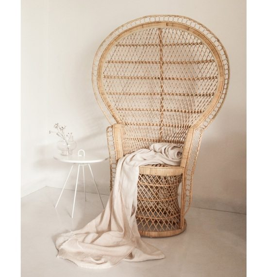 Rattan revival: Peacock chair