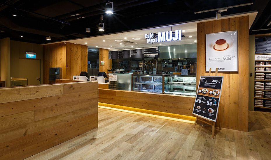 Cafe and Meal Muji Honeycombers Singapore