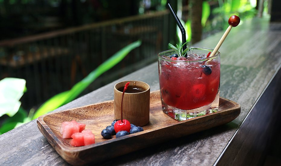 Singapore Botanic Gardens guide: A mocktail