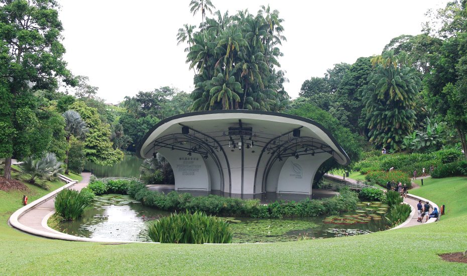Symphony Lake at Singapore Botanic Gardens