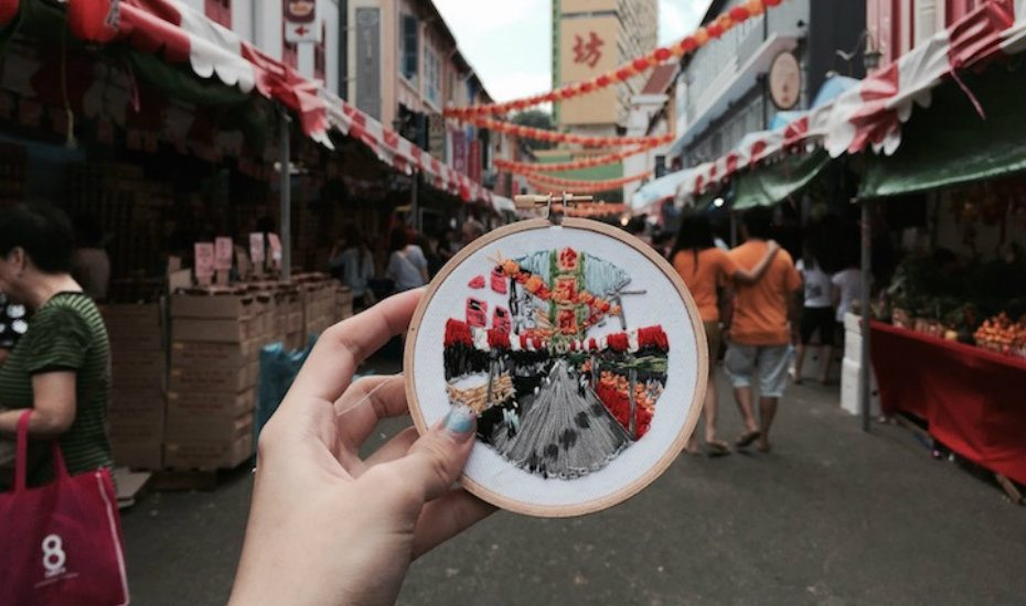 Artists pushing the boundaries of embroidery