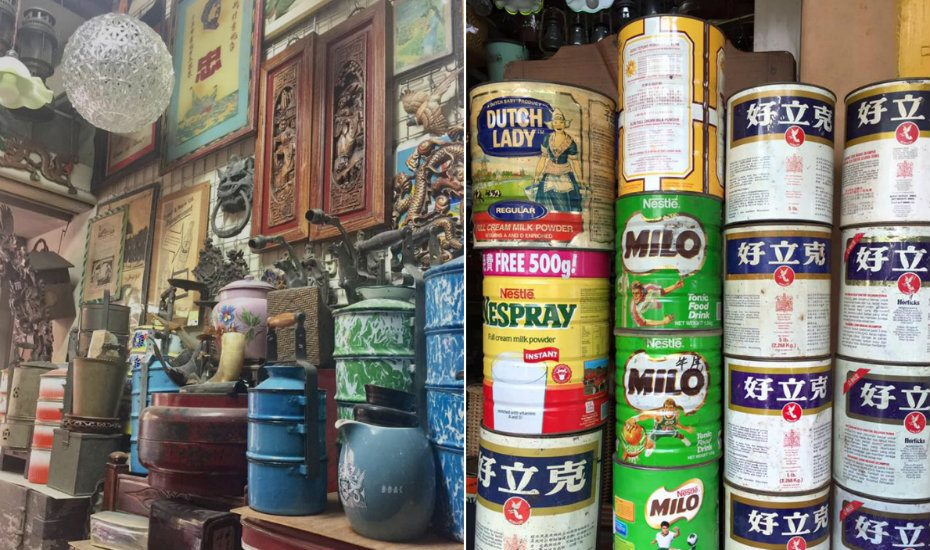 Vintage and collectible shops in Singapore for some old-school treasure