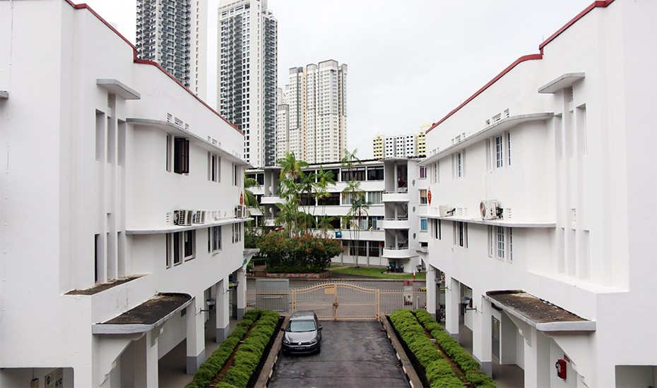 Tiong Bahru Singapore architecture