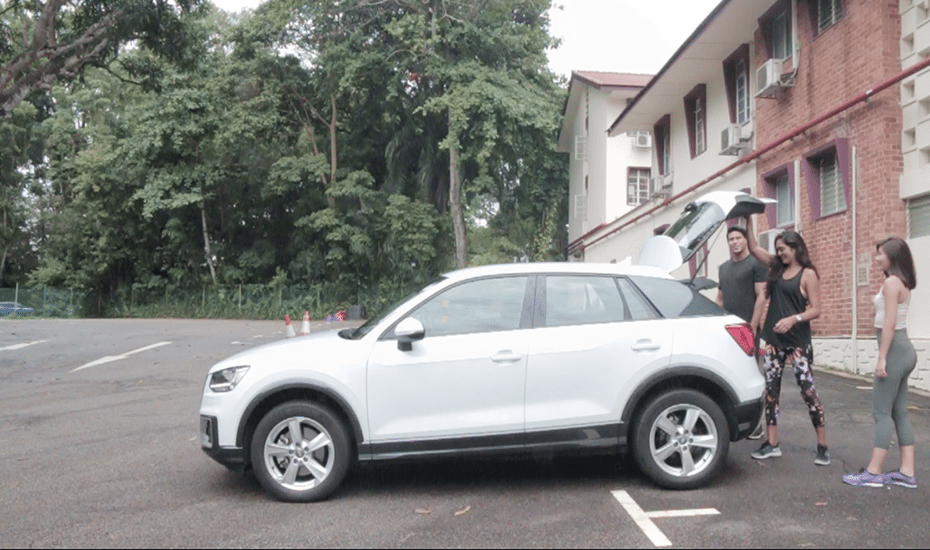 Watch how we slay the great outdoors at MacRitchie Reservoir with Audi on demand
