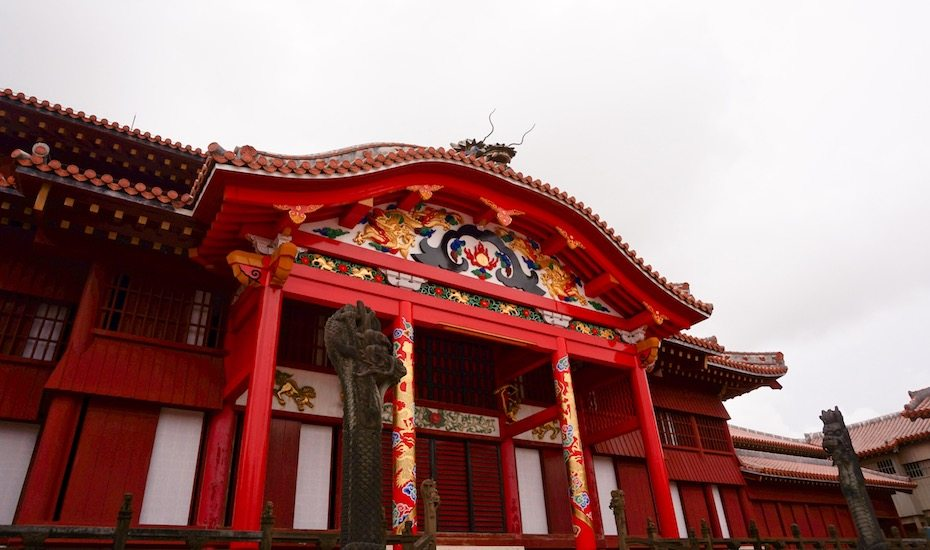 shuri castle okinawa honeycombers singapore