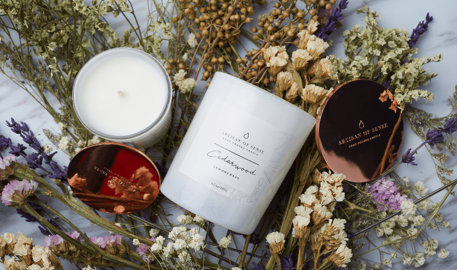 Artisan of Sense creates candles and organic room sprays that are entirely plant-based and cruelty and toxin free.
